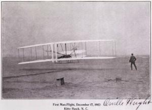 Wright Brothers Flight at Kitty Hawk