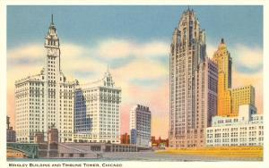 Wrigley Building and Tribune Tower, Chicago, Illinois