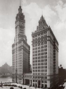 Wrigley Building, Chicago 1930