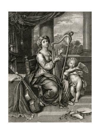 St Cecilia, Fry, Mignard