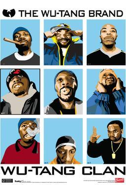 Wu Tang Clan Animated Music Poster