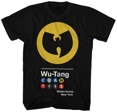 Wu Tang Clan- Circles 1992 Logo