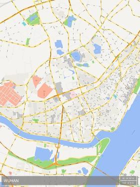 Wuhan, China Map