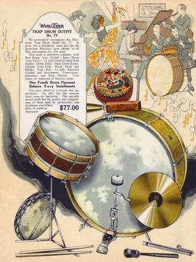 Wurlitzer Drums