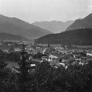 Bad Ischl, at the Foot of Hoher Dachstein, Salzkammergut, Austria, C1900s by Wurthle & Sons