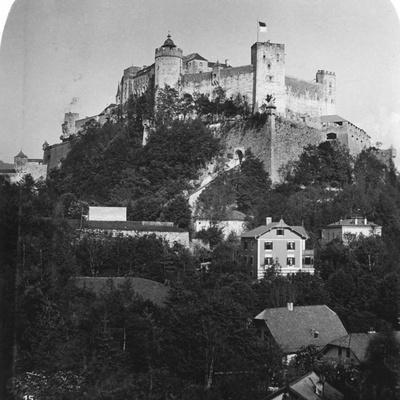 Festung Hohensalzburg, Salzburg, Austria, C1900s