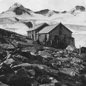 Kissinger Hut, Hohe Tauern, Austria, C1900s by Wurthle & Sons