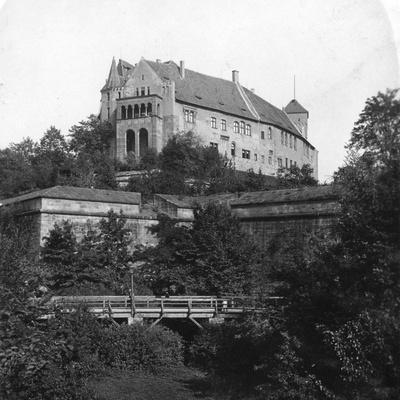 Nuremberg Castle, Nuremberg, Germany, C1900s