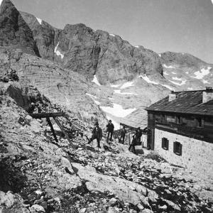 Simony Hut, Salzkammergut, Austria, C1900s by Wurthle & Sons