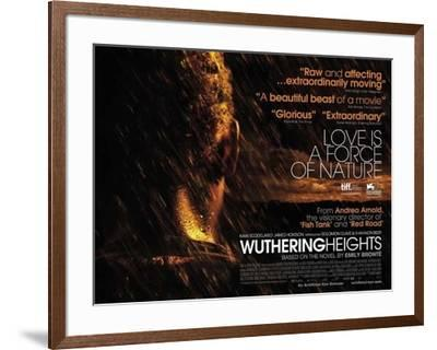 Wuthering Heights Movie Poster--Framed Poster