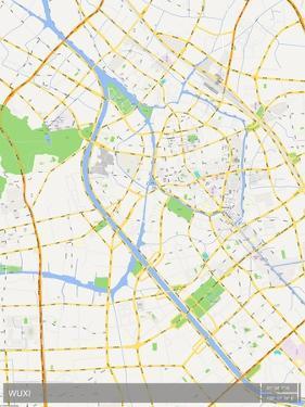 Wuxi, China Map