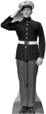 WW II US Marine Lifesize Standup