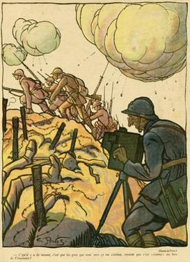 WW1 Cartoon, Filming 1917