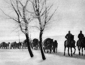 WW1 Horse Drawn Supply Column