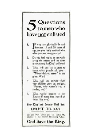 https://imgc.allpostersimages.com/img/posters/ww1-recruitment-advertisement_u-L-PS0YXN0.jpg?artPerspective=n