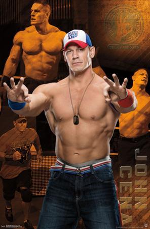 WWE- John Cena Action Collage