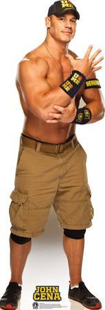 WWE - John Cena Navy and Gold Lifesize Standup