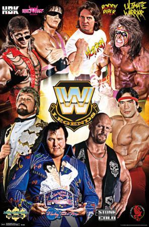 WWE Legends - Group 2016