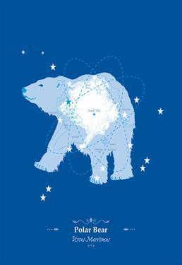 Polar Bear - WWF Contemporary Animals and Wildlife Print by WWF