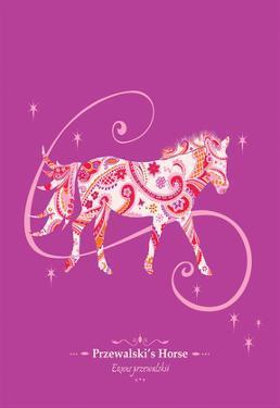 Przewalski's Horse - WWF Contemporary Animals and Wildlife Print by WWF