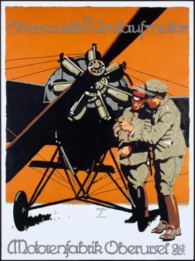 WWI German Aviation Motorenfabrik Oberursel