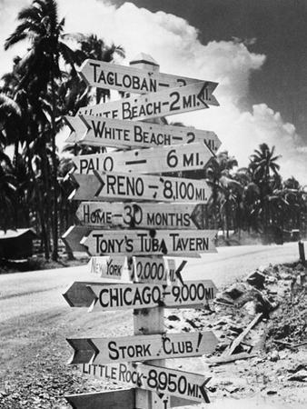 WWII Asia Philippine Islands Leyte U.S. Misc.
