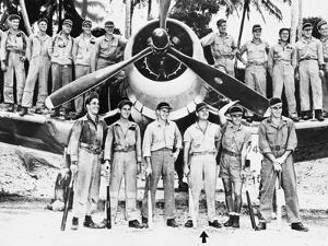 WWII Boyington and Black Sheep Crew 1944