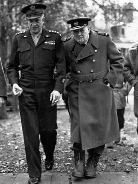 WWII Churchill Eisenhower