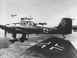 WWII German JU 87 Stuka