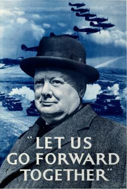 WWII RAF Churchill Spitfire