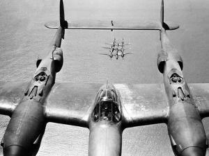 WWII U.S. Lockheed P38 Lightning