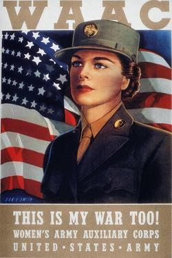 WWII: Waac Poster, 1942
