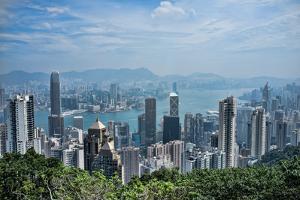 Hong Kong from the Peak by www.neilblakely.com