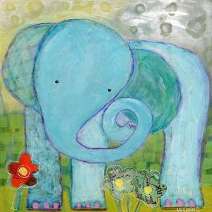 All Is Well Elephant by Wyanne