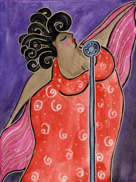 Big Diva Blues Singer by Wyanne