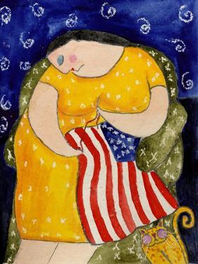 Big Diva Mending Our Flag by Wyanne