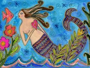 Big Diva Mermaid with Heart by Wyanne