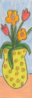 Little Vase of Flowers by Wyanne