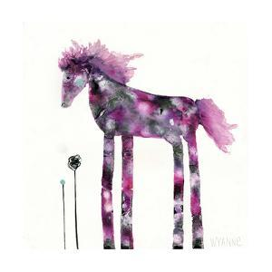 Pink Painted Pony by Wyanne