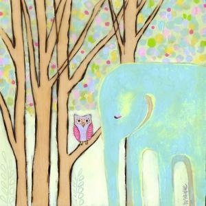 Quiet Time Elephant by Wyanne