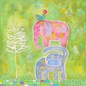 Strong One Elephants by Wyanne