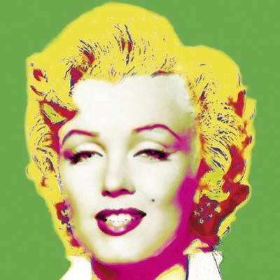 Marilyn in Green by Wyndham Boulter