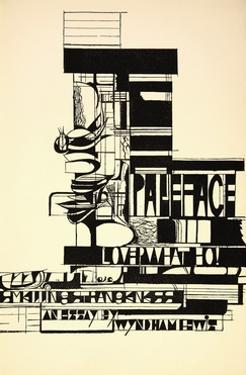 Design for Paleface by Wyndham Lewis