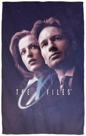 X-Files - Among The Stars Beach Towel