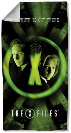 X Files - Trust No One Beach Towel