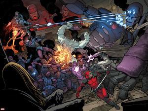 X-Men: Battle of the Atom No. 1: Beast, Sentinel, Iceman, Deadpool, Grey, Jean