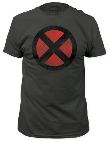 X-Men - Distressed X-Men Logo (slim fit)