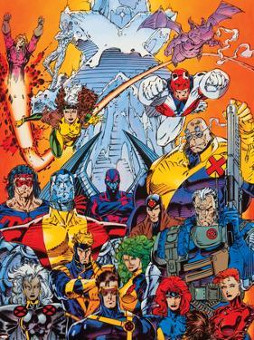X-Men Forever Alpha No. 1: Cyclops, Storm, Grey, Jean, Summers, Rachel, Havok, Polaris, Cable