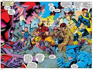 X-Men Forever Alpha No. 1: X-Men No. 2: Psylocke, Wolverine, Gambit, Cyclops, Rogue, Beast