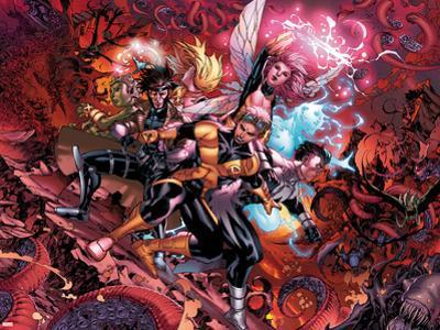 X-Men: Hellbound No. 1: Cannonball, Gambit, Northstar, Pixie